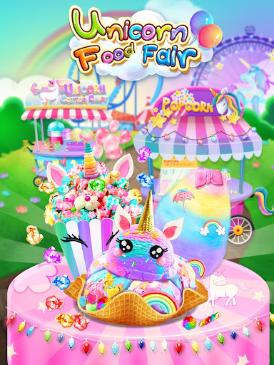 Carnival Unicorn Fair Food - The Trendy Carnival screenshots 5