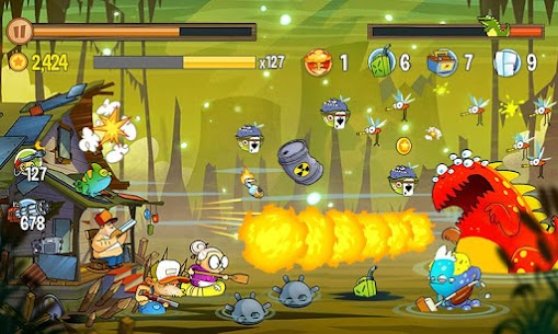 Swamp Attack 2 MOD (Unlimited Coins) 5