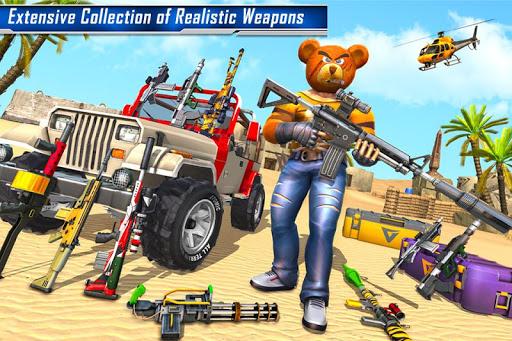 Teddy Bear Gun Strike Game: Counter Shooting Games 3.2 screenshots 1