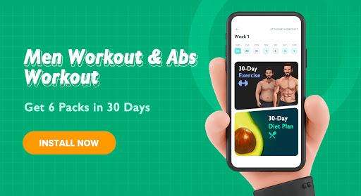 Men Workout screenshot 1