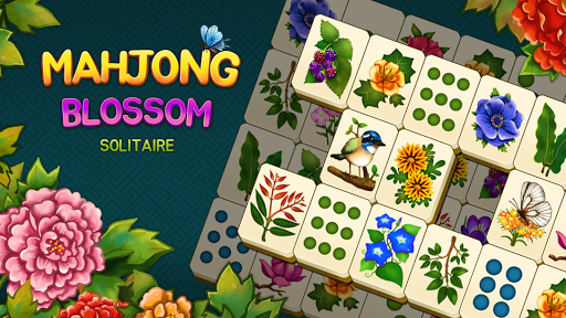 Mahjong Blossom Solitaire apkdebit screenshots 6
