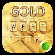 Gold Pro GO Keyboard Theme