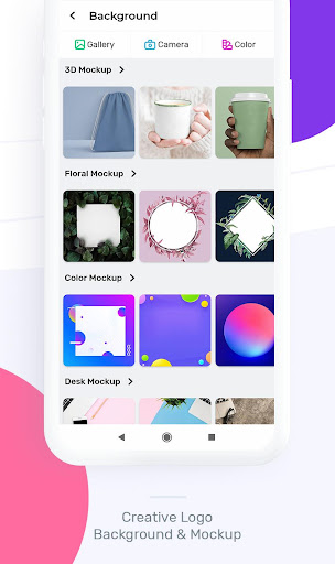 Logo Maker : Graphic Design And Logo Templates android2mod screenshots 2