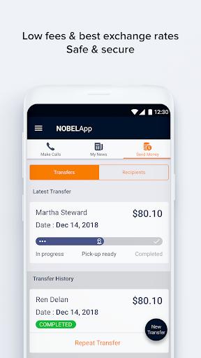 NobelApp Money Transfers + Calls For PC Windows (7, 8, 10, 10X) & Mac Computer Image Number- 6