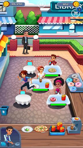 Cooking Cafe - Food Chef apkslow screenshots 4