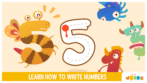 Vkids Numbers - Counting Games For Kids 3.2 screenshots 1