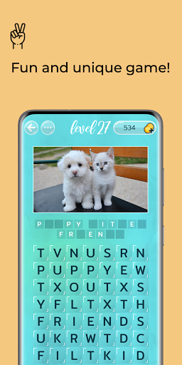 Word Search Puzzles with Pics - Free word game Latest screenshots 1