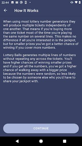 Lottery Balls  Screenshots 5