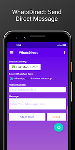WhatsDirect : Direct chat without saving contact