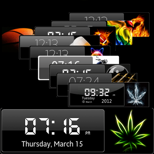 HD Clock Widgets Premium