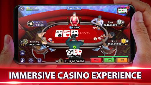 Poker Live! 3D Texas Hold'em 3.0.8 screenshots 1