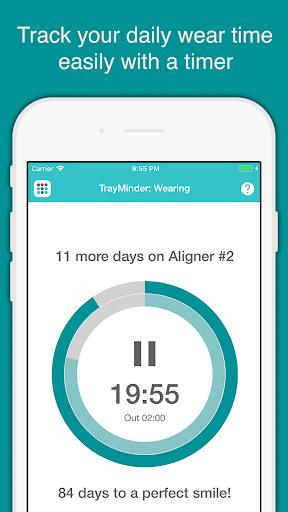 TrayMinder Aligner Tracker screenshot for Android