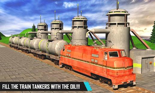 oil tank transport cargo train hack