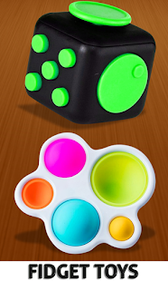 Fidget Cube 3D Antistress Toys - Calming Game Screenshot