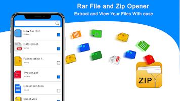 RAR File Extractor - Zip Unzip & File Compressor