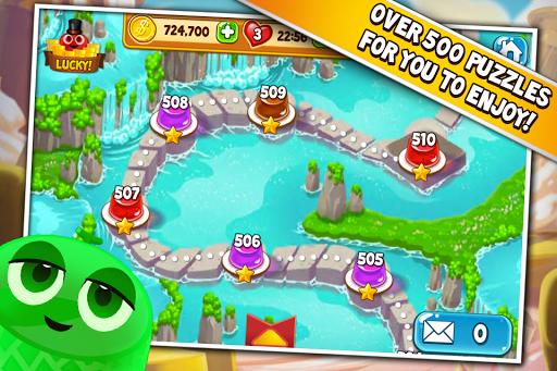 Pudding Pop - Connect & Splash Free Match 3 Game screenshots 3