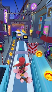 Subway Surfers (MOD, Unlimited Coins/Keys/All Characters) 3