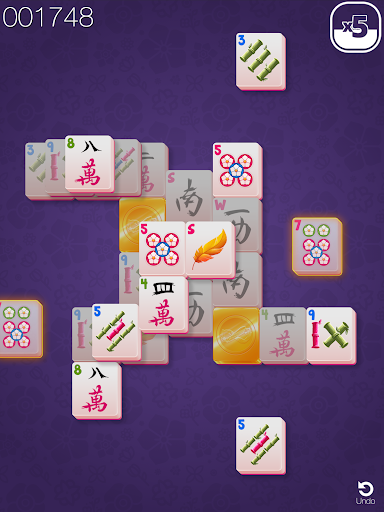 Gold Mahjong FRVR - The Shanghai Solitaire Puzzle screenshots 8