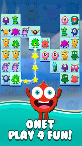 Onet Connect Monster - Play for fun apkslow screenshots 2