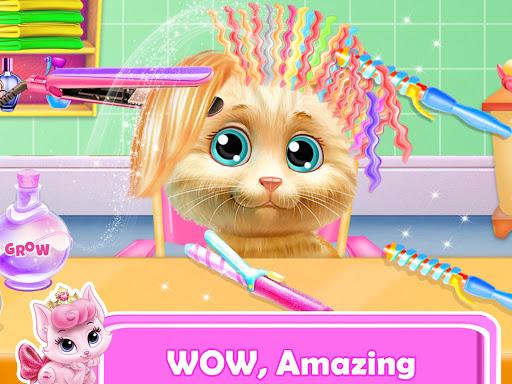 Pet Kitty Hair Salon Hairstyle Makeover  screenshots 1