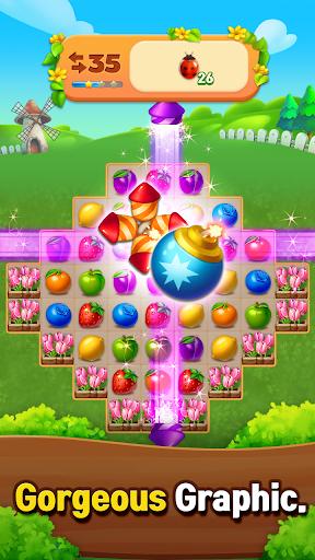 Fruits Farm: Sweet Match 3 games 1.1.0 screenshots 13