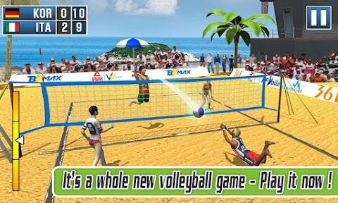 Volleyball Exercise - Beach Volleyball Game 2019のおすすめ画像1
