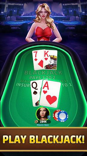 Blackjack 21: Free online poker game & video poker 1.5 screenshots 1