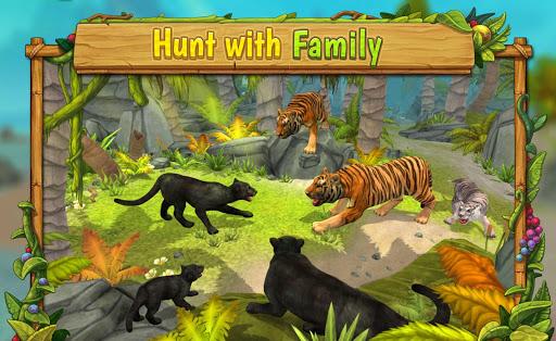 Tu00e9lu00e9charger Gratuit Panther Family Sim Online - Animal Simulator APK MOD (Astuce) screenshots 2