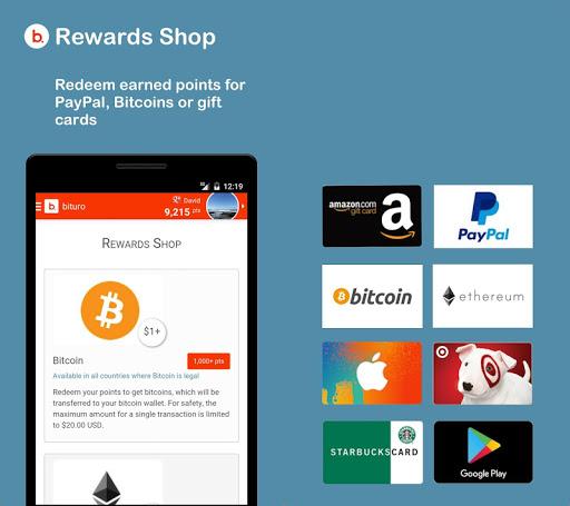 bituro - Rewards & Bitcoins
