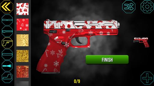 Gun Builder Custom Guns - Shooting Range Game 1.2.9 screenshots 2