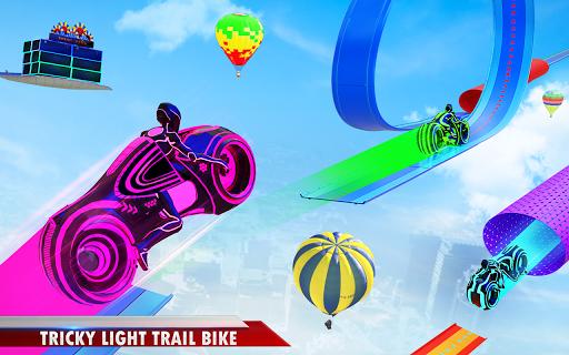 Mega Ramp Light Bike Stunts: New Bike Racing Games modavailable screenshots 10