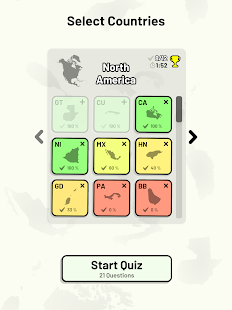 Countries of North America Quiz