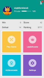 Hearts - Card Game 2.19.0 screenshots 2
