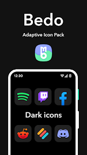 Bedo Adaptive Icon Pack APK (PAID) Download Latest 4