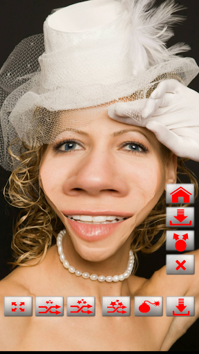 Warp My Face: Fun Photo Editor  screenshots 1