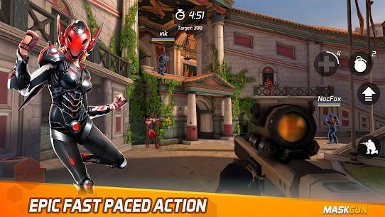 MaskGun Online multiplayer FPS shooting gun game Apk Lastest Version 2021** 8