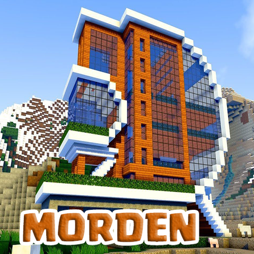 Modern House Maps for Minecraft