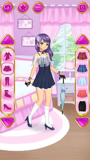 Anime Dress Up - Games For Girls 1.1.9 Screenshots 16