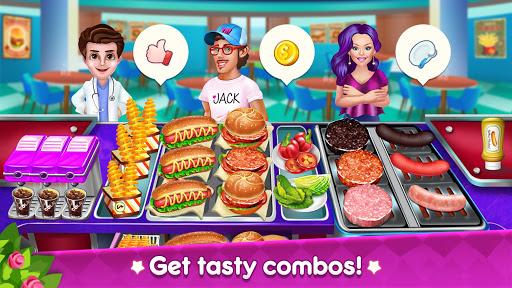 Kitchen Star Craze - Chef Restaurant Cooking Games  screenshots 19