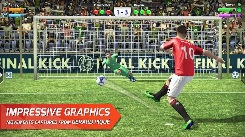 Final kick 2020 Best Online football penalty game  poster 7