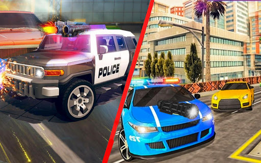 Police Chase vs Thief: Police Car Chase Game  screenshots 4