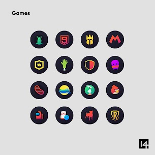 Hera Dark Icon Pack APK [Paid] Download for Android 8