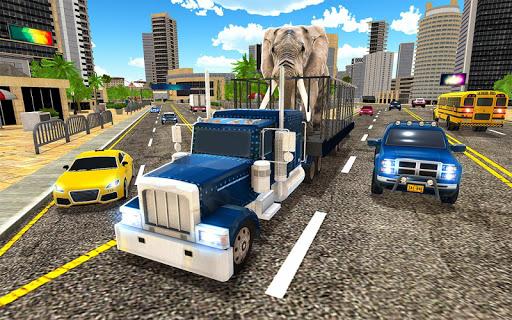Télécharger Gratuit Animal Hospital Transporter Truck Driver Simulator apk mod screenshots 2