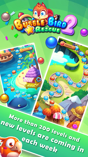 Bubble Bird Rescue 2 - Shoot! 3.1.9 screenshots 17