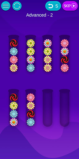 Bubble Sort - Fun IQ Brain Games and Logic puzzles 1.2.8 screenshots 8