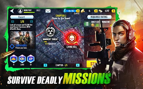 Drones 4: Zombie Strike MOD APK 1.19.252 (Unlimited Money) 9
