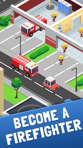 Idle Firefighter Tycoon - Fire Emergency Manager 0.3 screenshots 2