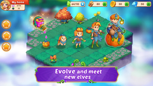 Merge Wonders - Elf Gardens screenshots 2