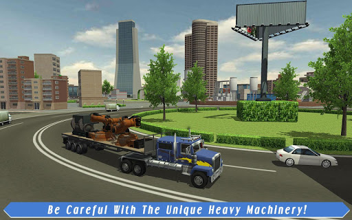 Cargo Truck Driver: American Transport  screenshots 13