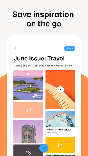 Collect by WeTransfer 5.0.2 Screenshots 1